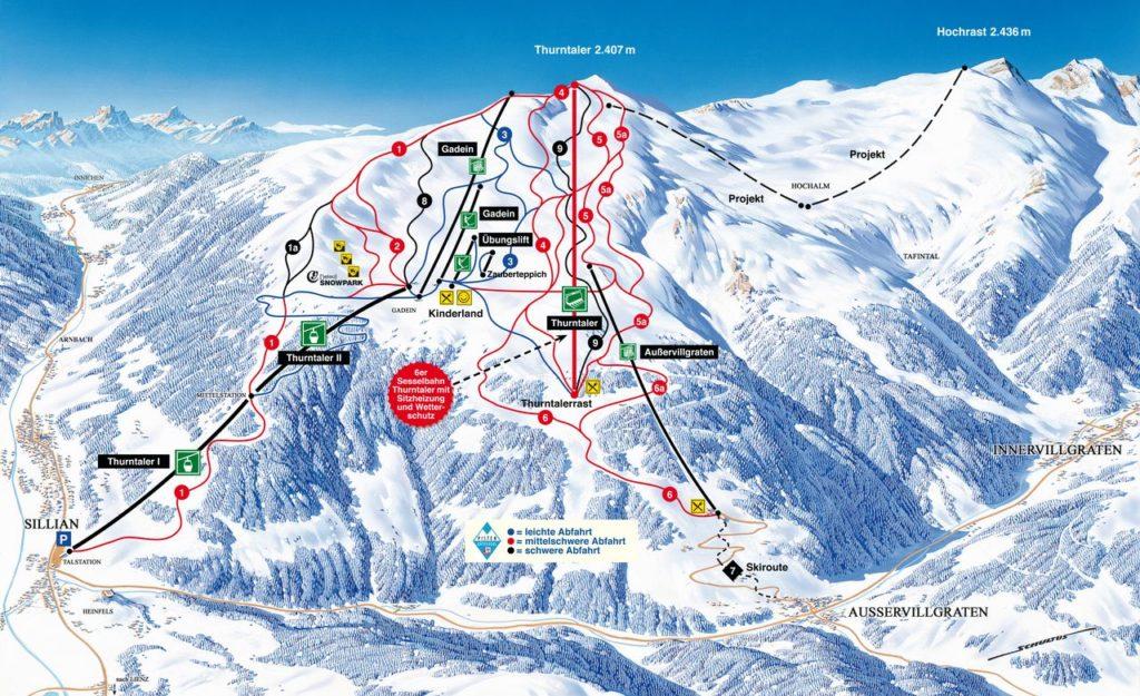 Sillian – Hochpustertal Skizentrum