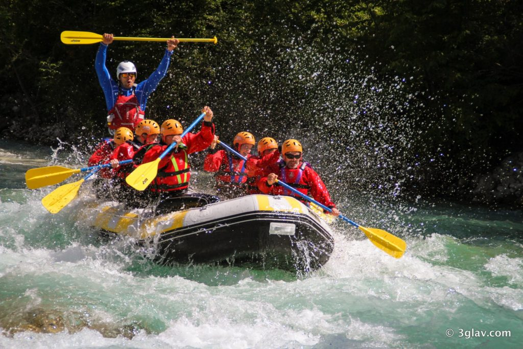 Wild water: rafting, hydrospeed, canyoning