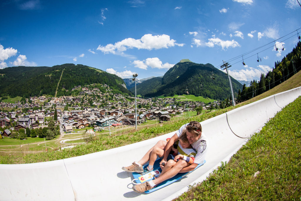 Ostirodler, the alpine coaster, summer sledge
