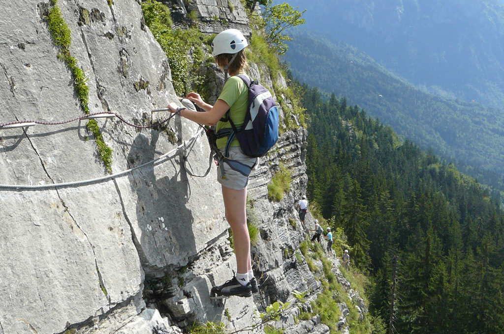 Via-ferrata (Klettersteig)
